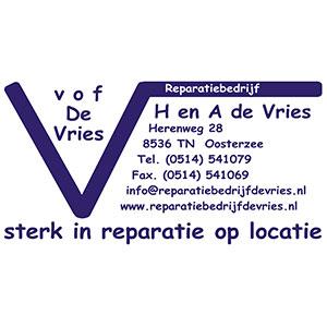 H en A de Vries VOF
